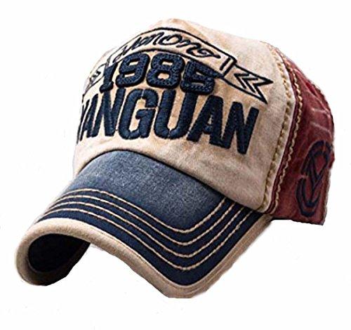 Gorra de béisbol vintage con aspecto gastado, tipo snapback, transpir