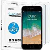 OMOTON iPhone 7 Plus/ iPhone 7 Pro Screen Protector [2 Pack]- [9H Hardness] [Crystal Clear] [Bubble Free] Tempered Glass Screen Protector for Apple iPhone 7 Plus/ iPhone 7 Pro,