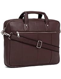 WildHorn 100 % Genuine Leather (16 Inch) Laptop Messenger Bag (BROWN) DIMENSION : L-16 Inch W-3 Inch H-12 Inch
