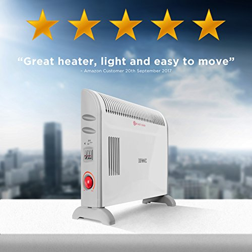 51wA3d H%2B8L. SS500  - Duronic Convector Heater HV120 | 2kW/2000w | Electric | Convection Heating | Adjustable 3 Heat Settings 750 / 1250…