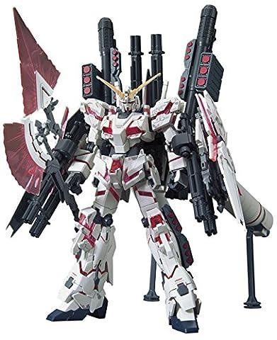 HGUC Mobile Suit Gundam UC Full Armor Gundam Unicorn Destroy Mode/Red color Ver 1/144 Scale color-coded pre-plastic model