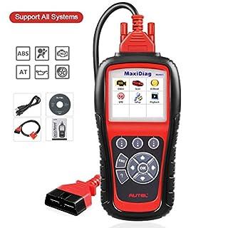 Autel Scanner Autel MD805 Maxidiag Elite Full System Diagnoses for ABS, SRS, Engine, Transmission ,EPB, Oil Reset