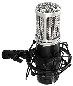 Monacor microphone à condensateur avec le diaphragme de grande taille (ecm-170)