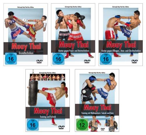 Muay Thai DVD - Die komplette Serie über die Techniken und das Training des Thai-Boxens (Bewegung Und Balance)