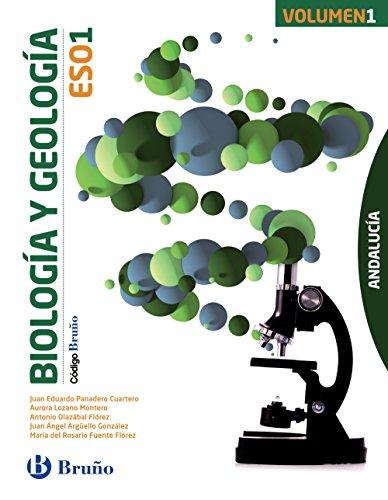 Código Bruño Biología y Geología 1 ESO Andalucía - 3 volúmenes - 9788469612477