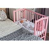 Comfort Baby® teilbare Colchón para cama auxiliar, 90x 40cm//90X 55Cm