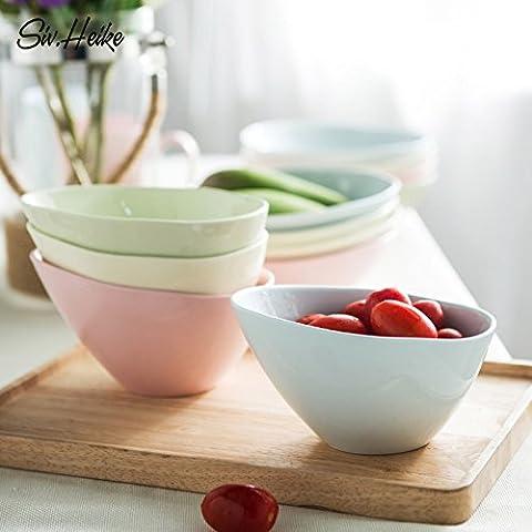 Saladiers de service bols en céramique Bol à dessert Légumes Salade de fruits Bol