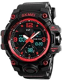 BINZI Unisex Watch For Boy Sports Watches Analogue Watches Men Wristwatch Boys Girls Digital Waterproof Alarm...