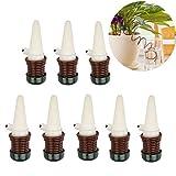 Irrigazione Vasi,8 Pack Irrigazione Automatica per Bonsai Impianto Fiore Indoor per Giardinaggio Balcone orto