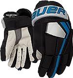 Bauer Senior Pro Spieler Handschuh (Paar), große, schwarz