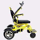 Fauteuil roulant Chaise électrique portative de Voyage Pliante, électrique Pliant...
