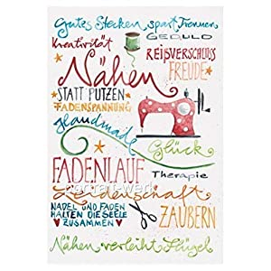 Print Nähen DIN A 4