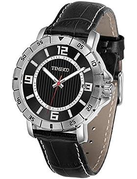 Time100 Armbanduhr Herrenuhr Quarzuhr mit Datum #W70109G.01A