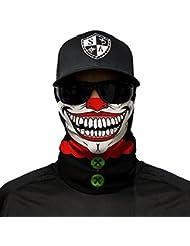 SA Company Face Shield Cagoule * * Designs Différents * * Multi unkti Ons écharpe Masque Fishing Tête de Mort Skull Bandana Bandana Masque de ski moto paintball