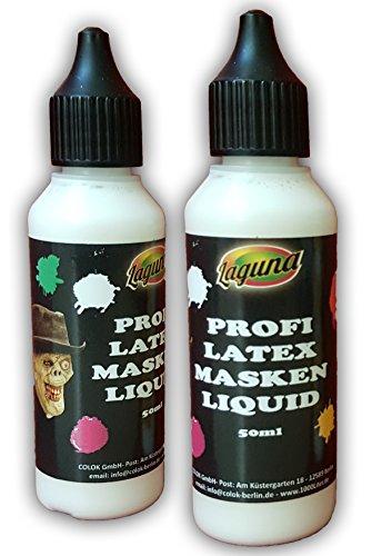 Mask Artist Professional Latex Liquid Latex Wounds Scars Masks Natural Latex Liquid Latex for DIY 50 ml