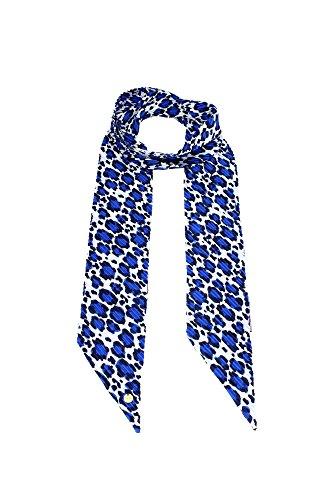 Foulard & Sciarpe Liu Jo Donna Poliestere Blu e Bianco A16190T0300Y9191 Blu 12x230 cm