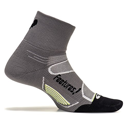 e Light Cushion Quarter Socken, Füsslinge, Strümpfe, Graphite/Black, L/43-46 ()