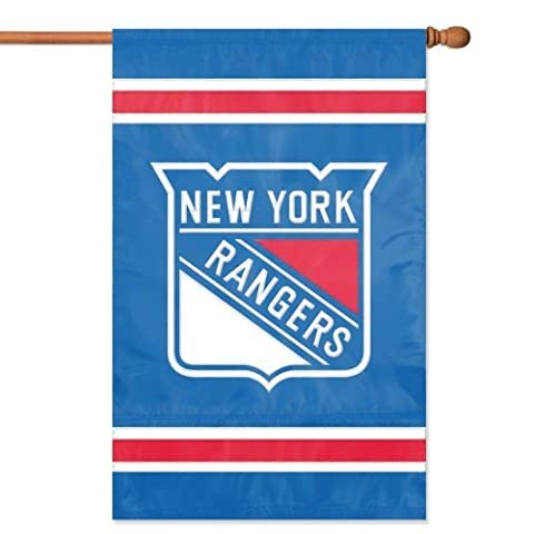 Party Animal NY Rangers Applique Banner Flag, 44 x 28-Inch by Party Animal