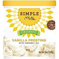 Simple Mills - El helar orgánico con vainilla del aceite de coco ...