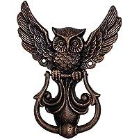 Handtuchhalter Schwein Kopf Figur Skulptur Eisen Antik-Stil 22cm