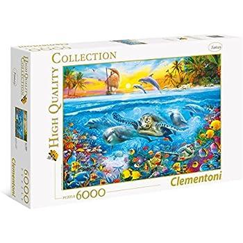 Clementoni Quot Howard Robinson Under Water Puzzle 6000 Piece