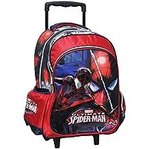ZAINO SCUOLA CON TROLLEY SPIDERMAN 3D 2015 337-62074