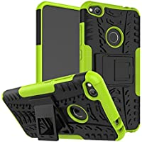 """OFU®Para Huawei P8 Lite (2017) 5.2"""" Smartphone, Híbrido caja de la armadura para el teléfono Huawei P8 Lite (2017) 5.2"""" resistente a prueba de golpes contra la lucha de viaje accesorios esenciales del teléfono-verde"""