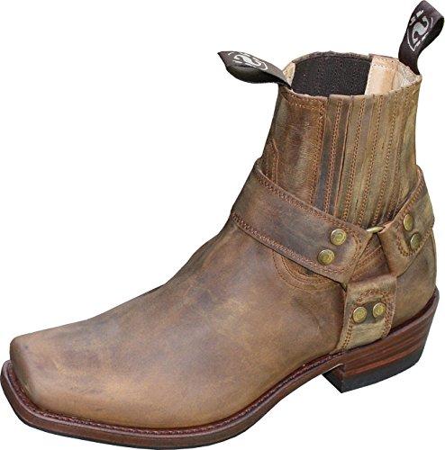Sendra Boots Sendra Stiefelette Mad Dog Tang Lavado Blues Braun (43) -