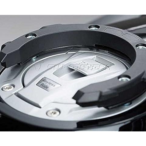 Tank anello adaperkit Quick Lock EVO Nero. Modelli di per BMW con keyless Ride.