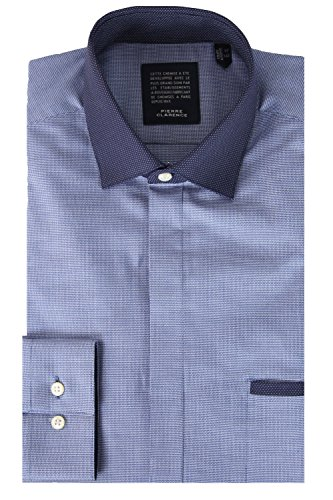 Pierre Clarence - Chemise Pierre Clarence Trim Bleu