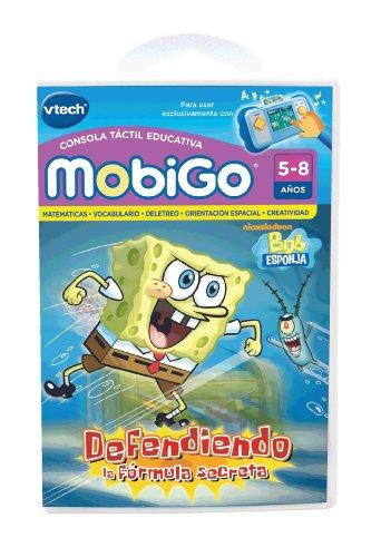 VTech Bob Esponja, Defendiendo la fórmula secreta, juego educativo en soporte físico para MobiGo (80-251522)