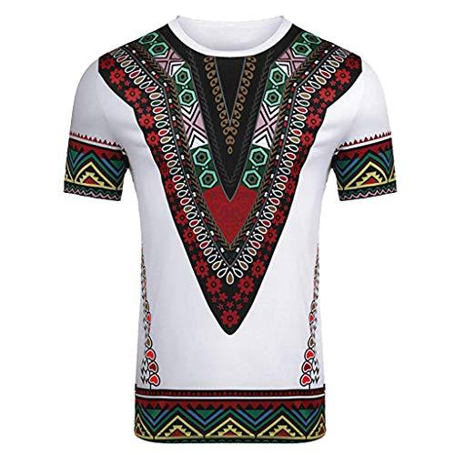 Shirt Herren,ESAILQ Kurze atmungsaktive Bequeme Normallack-Lange Hülsen-lose beiläufige T-Shirt Bluse der Männer