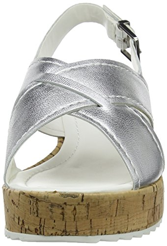 Dune Kriss, Tacchi Sling Indietro Donna Argento (Silver)