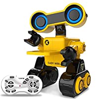 Remote Control Educational Robot Toys R13 Intelligent Programmable Dancing Sliding Learning Recording for Kids Boys Girls