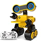 RC Robot Toy for Kids, Remote Touch and Voice Control Robot Provide Science Lectures for Child, Intelligent Programmable Robot with Function of Dancing, Singing, Walking, Led Eyes