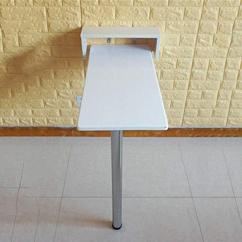 SED Multifunktions Kleine Tabelle Haushalt Wandbehang Kiefer Gestelle Zusammenklappbare Set-Top Box Regal für Küche Bad Schlafsaal Schlafzimmer Einfache Studie Tisch,115 * 20 * 112 cm
