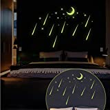 MINRAN DECOR Peintures Stickers muraux fluorescentes DIY Douches décoratives Y0037 21 * 29.7cm , 21*29.7cm