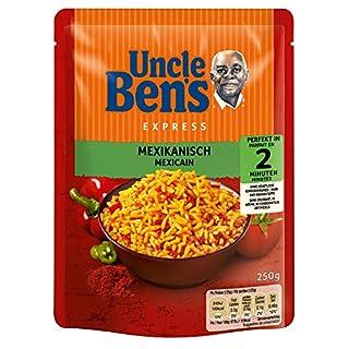 Uncle Ben's Express-Reis Mexikanisch, 6 Packungen (6 x 250g)