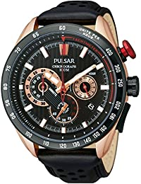 Pulsar Herren 's Rose Gold WRC Chronograph Armbanduhr (222790044)