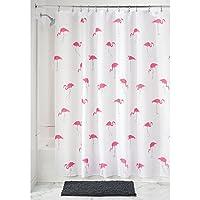 InterDesign Flamingo Tenda Doccia in Tessuto - 183 x 183