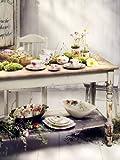 Villeroy & Boch Mariefleur Serve & Salad Salatschüssel, 45 x 31 cm, Premium Porzellan, Weiß/Bunt