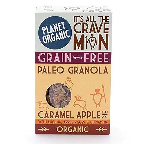 Planète Tarte Aux Pommes Bio Caramel Granola Paléo 350G (Paquet de 4)