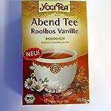 Yogi Tee Abend Tee mit Rooibos und Vanille - 17 Tee Beutel - Yogi Tea - AB 30,- EURO VERSANDKOSTENFREI in D!