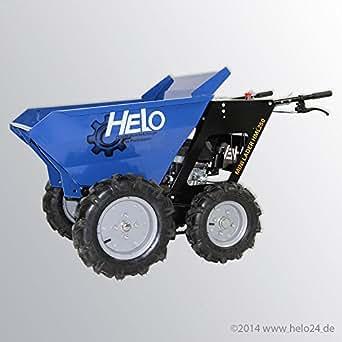 HELO Mini Dumper HML 250-N, motorisiert, allrad-angetrieben, mit 250 kg Trägermulde