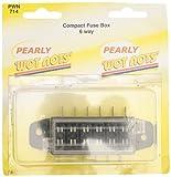 Pearl Automotive PWN714 Boîte à fusibles compacte 6 voies