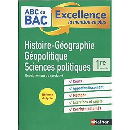 ABC Réussite Histoire-Géographie, Géopolitique et Sciences politiques 1re