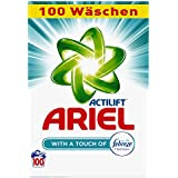 Ariel Waschpulver mit Febreze 6.5kg, 1er Pack (1 x 100 Waschladungen)