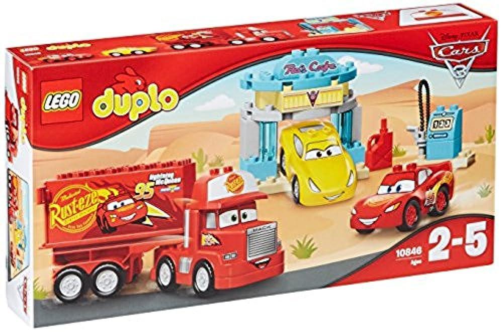 детские игры кубики Lego Duplo 10846 Flos Café Spielzeug Für Kleinkinder