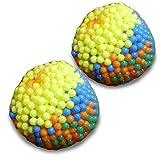 Infantastic 1000 Bälle Bällebad ((): ca. 5,5 cm) Babybälle Plastikbälle Kinderbälle in 5 verschiedenen Farben (2-er Set)