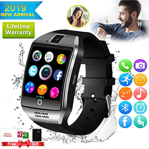 Bluetooth Smartwatch Touchscreen Kamera Wasserdicht Smart Uhr Sport Smart Watch mit Whatsapp Bluetooth Uhr Handy Intelligente Armbanduhr Kompatibel IOS iphone Andriod Samsung Huawei für Herren Damen - Diagramm Hören